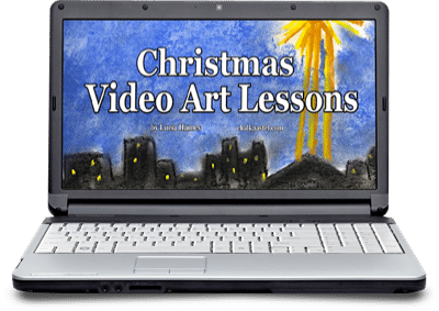 Christmas Video Art Lessons