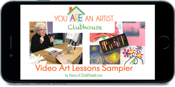 Artist Clubhouse Video Art Lessons Sampler - 3 Ridiculously Easy Ways to Include Art in Your Homeschool Every Day