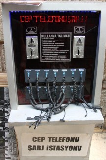 Phone charger @ Istanbul