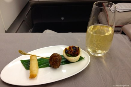 Amuse Gueule @ Turkish Airlines flight from Istanbul to Jakarta