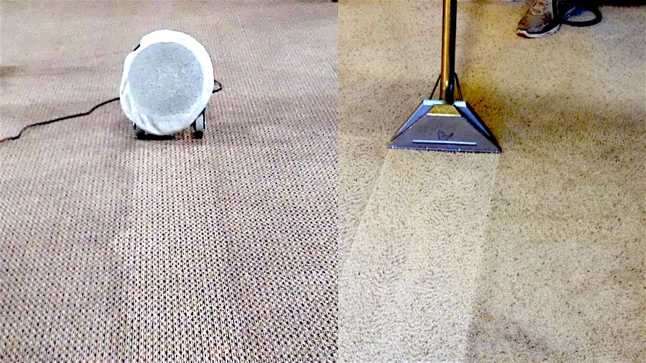 Hot Water Extraction Carpet Cleaners