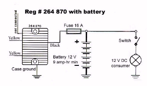 ezgo voltage regulator test honeywell chronotherm iii wiring diagram aircraft schematic rotax 503 charging system onan