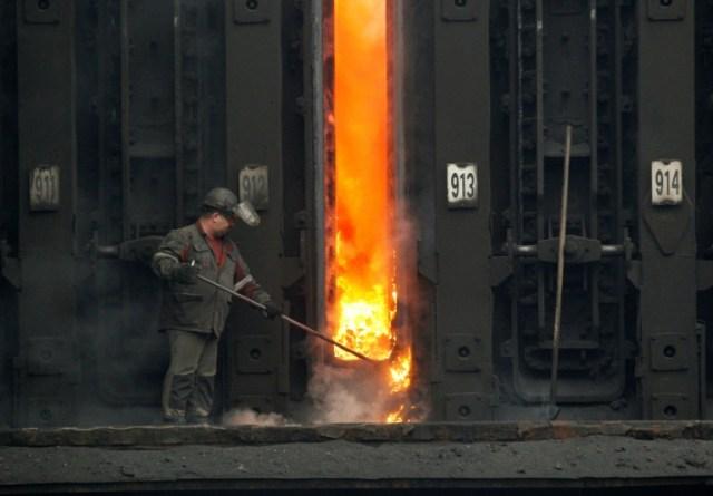 L'usine de coke d'Avdiivka, le 29 novembre 2019 (AFP - Anatolii STEPANOV)