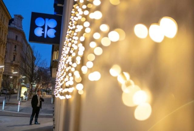 L'extérieur du siège de l'Opep à Vienne le 6 décembre 2019 (AFP/Archives - JOE KLAMAR)