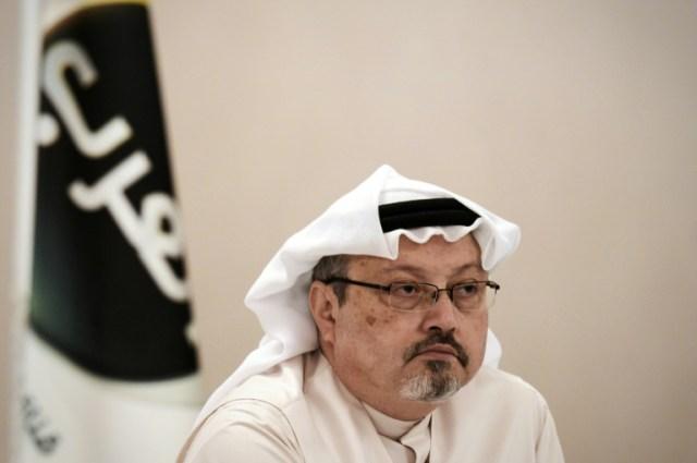 Le journaliste saoudien Jamal Khashoggi, le 15 décembre 2014 à Manama, à Bahreïn (AFP/Archives - MOHAMMED AL-SHAIKH)