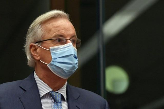 Le négociateur européen pour le Brexit Michel Barnier, le 7 décembre 2020 à Bruxelles (POOL/AFP - JOHN THYS)