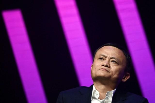 Jack Ma en mai 2019 à Paris (AFP/Archives - Philippe LOPEZ)