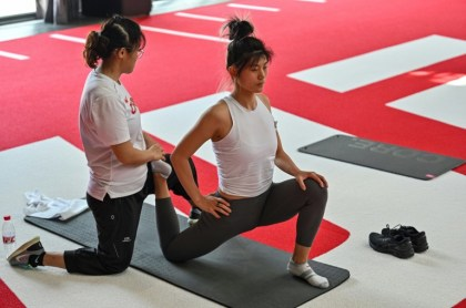 JO-2022: going through the Covid, Chinese language snowboarders in MMA mode