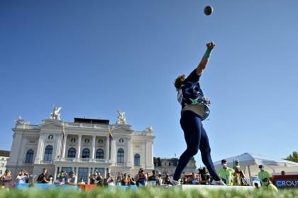 Athletics: Lasitskene units Zurich metropolis middle on hearth