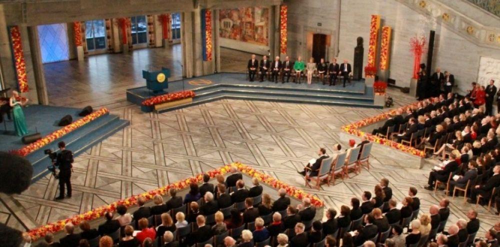 Le hall où sera repris le Prix Nobel d'Economie le 14 octobre prochain.