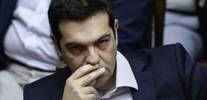 Resultado de imagen para Alexis Tsipras triste