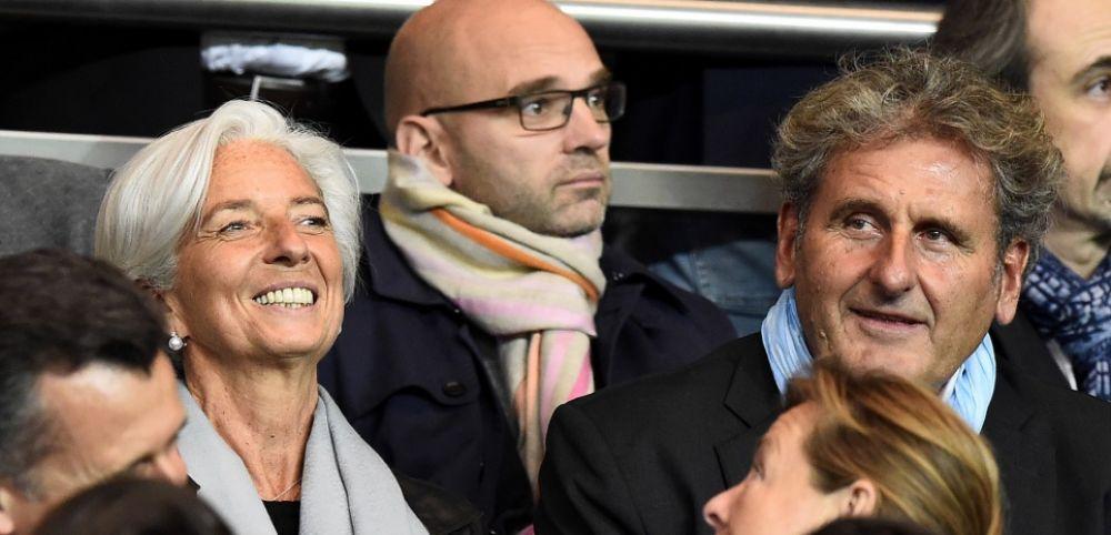 Xavier Giocanti est le compagnon de Christine Lagarde