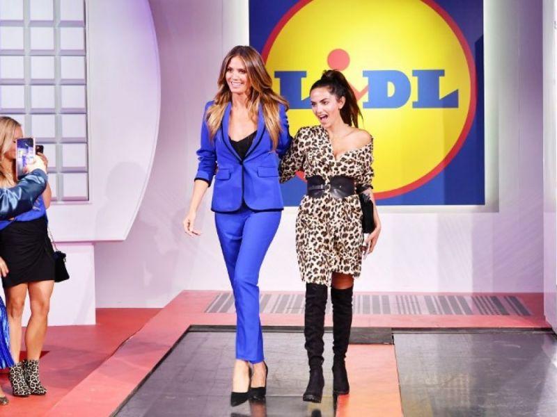 Lidl lance une collection de mode avec Heidi Klum