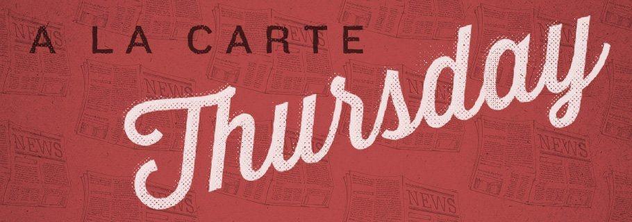 A La Carte (November 22)