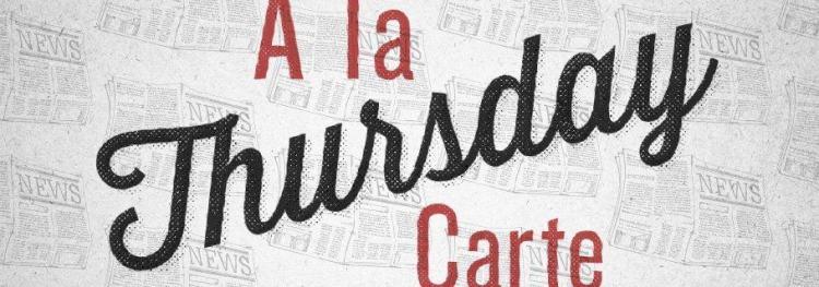 A La Carte (September 12)