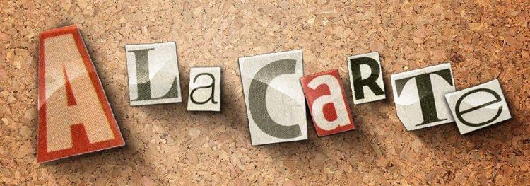 Sunday A La Carte (August 25)