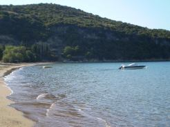 Loutsa beach in Finikounda