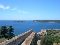 pylos-finikounda-castle-view