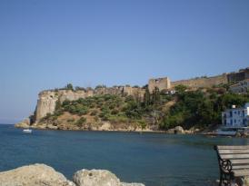 koroni-castle-view