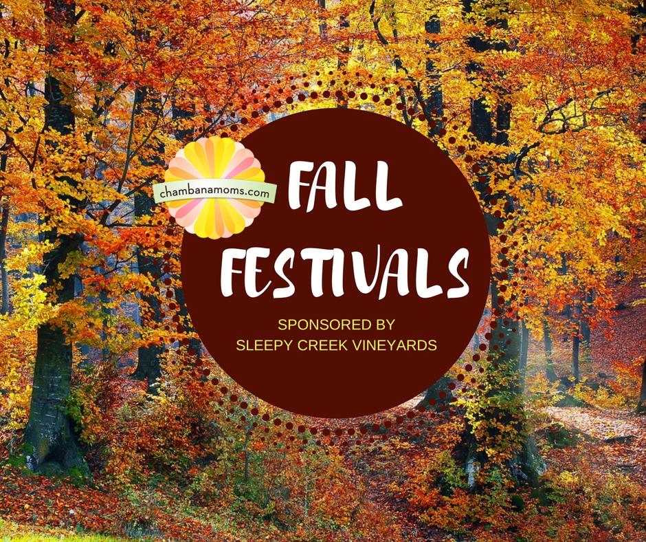 ChampaignUrbana Area Fall Festivals