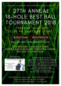 ROCIA Best Ball Tournament 2018