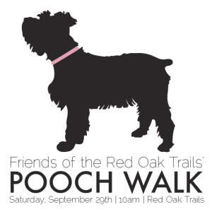 Come socialize your pooch with fellow dog lovers on the Red Oak Trails along Highway 34 this coming Saturday starting at 10 AM!