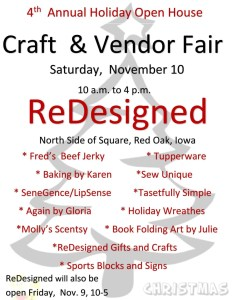 ReDesigned Craft Vendor Fair