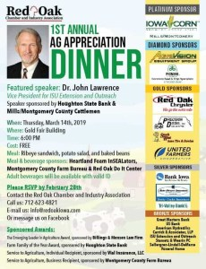 First Annual Ag Appreciation Dinner