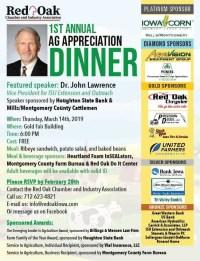 First Annual Ag Appreciation Dinner