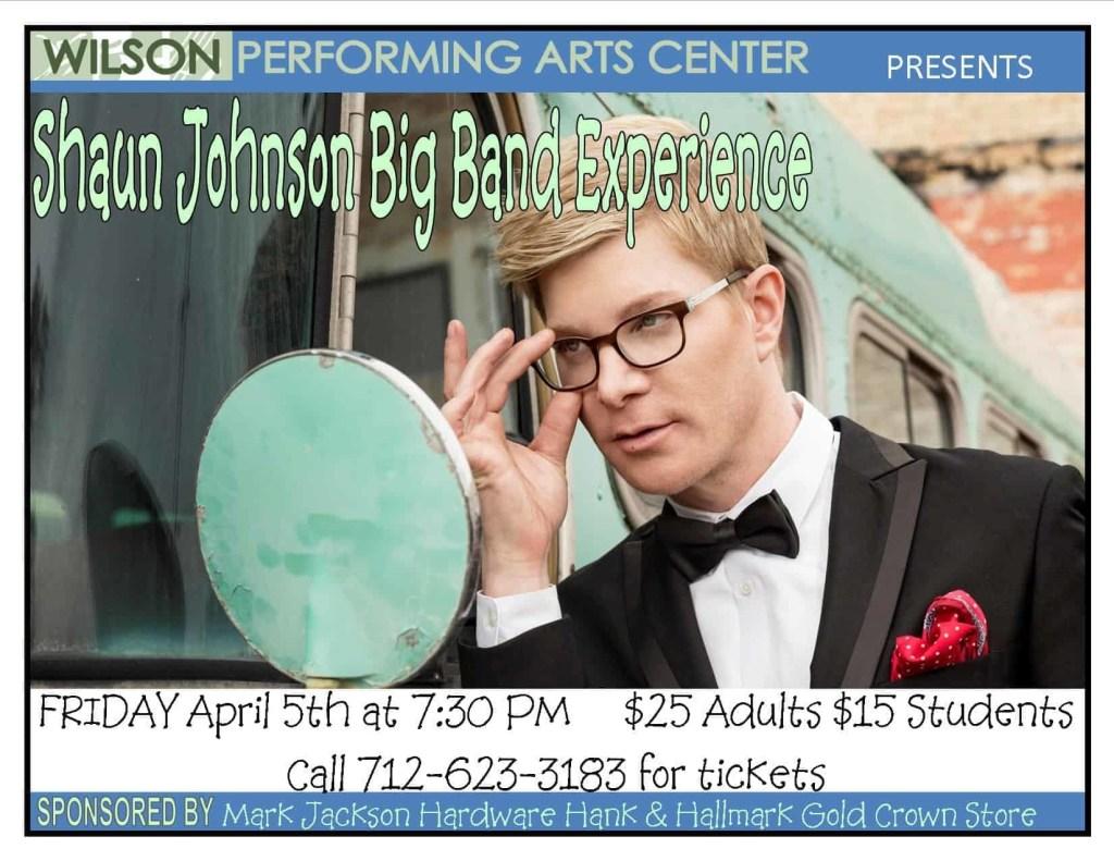Shaun Johnson Big Band Experience