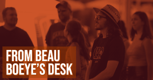 From Beau Boeye's Desk- Junction Days 2019