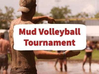 Junction Days Mud Volleyball Tournament