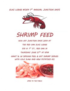 Elks Shrimp Feed