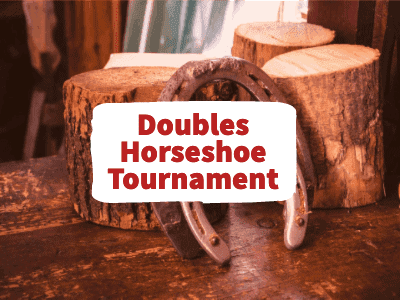 Doubles Horseshoe Tournament