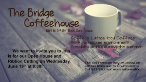 The Bridge Coffeehouse Ribbon Cutting