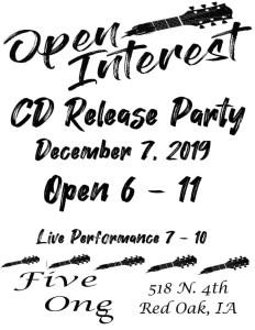 Open Interest CD Release