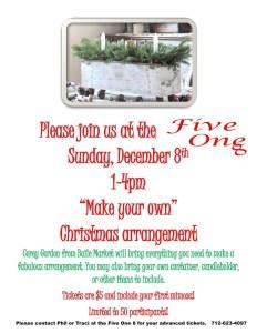 Make your own Christmas arrangement
