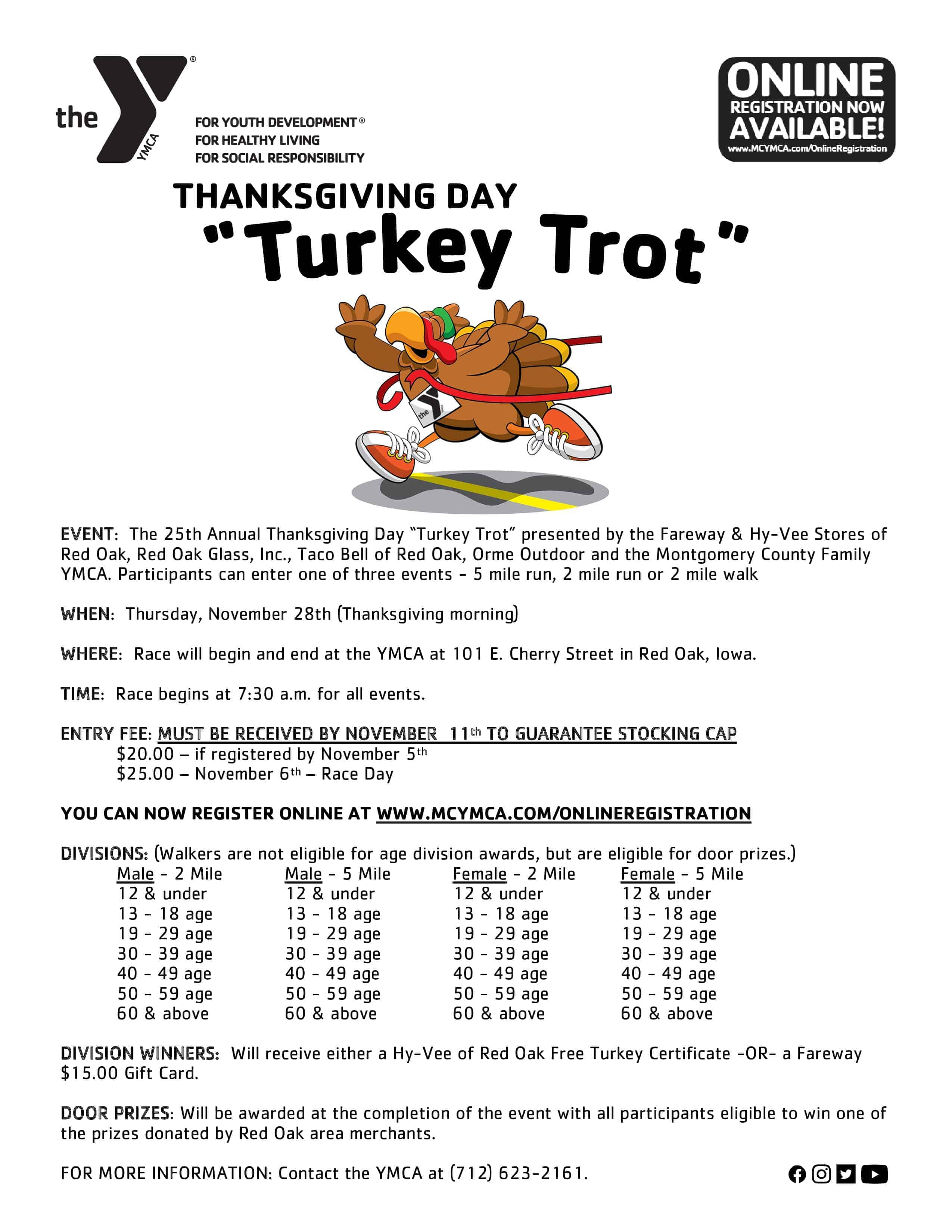 Thanksgiving Day Turkey Trot