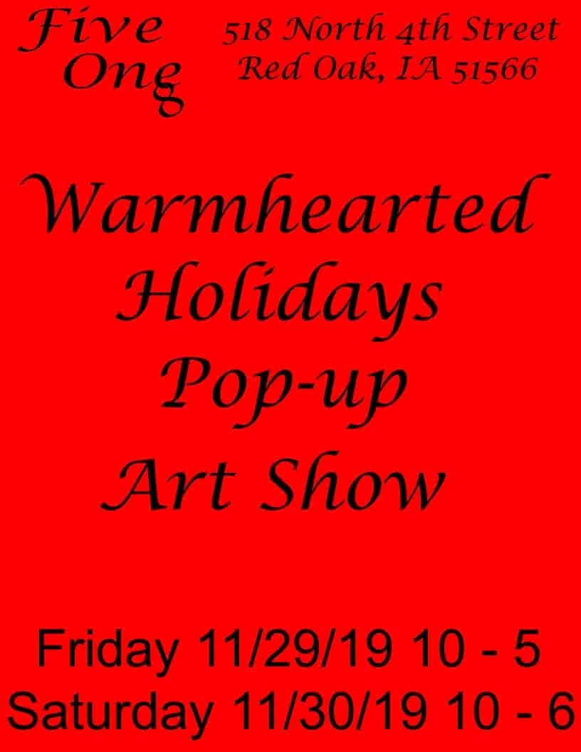 Warmhearted Pop-up Art Shpw