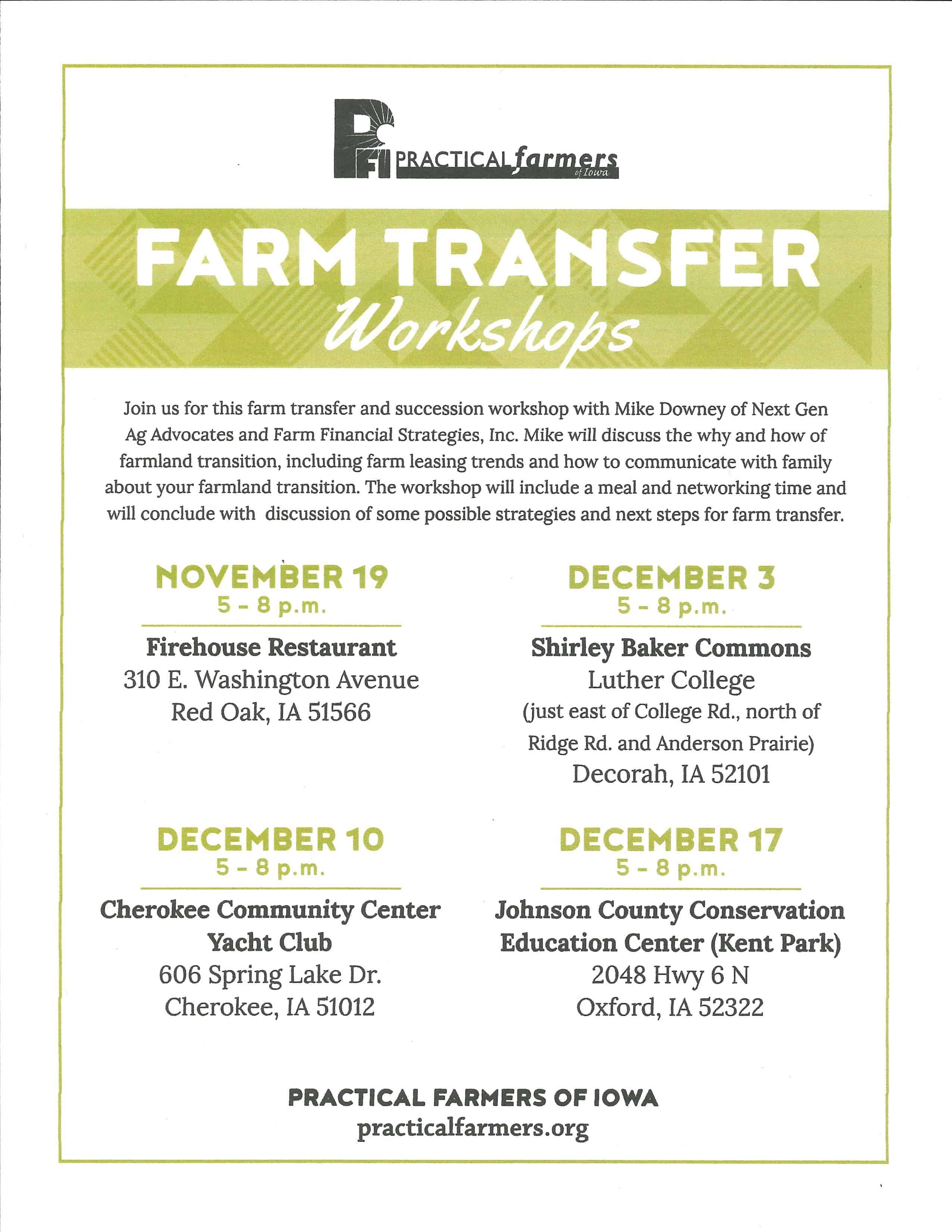 Farm Transfer
