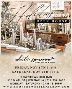 White Sparrow Open House