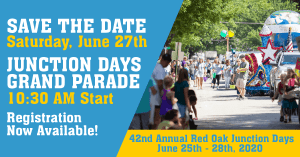 Red Oak Junction Days Grand Parade 2020
