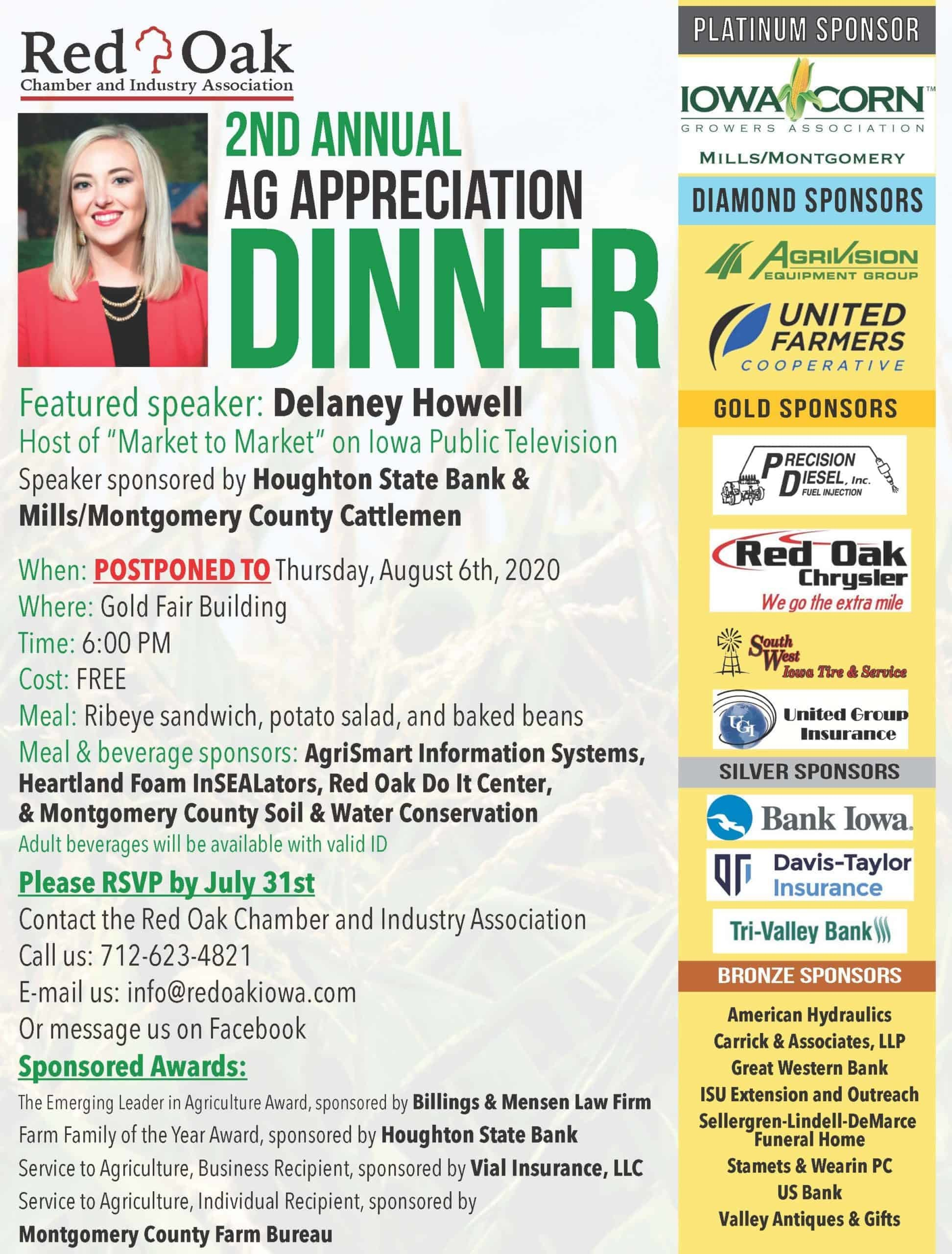 Annual Ag Appreciation Dinner
