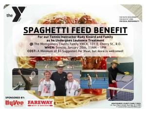 Spaghetti Feed Benefit