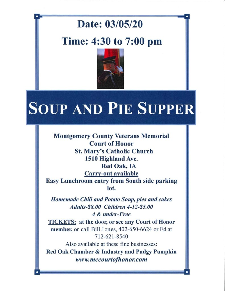 Soup and Pie Supper