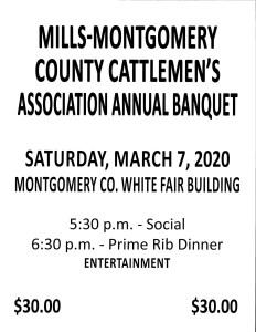 2020 Cattlemen's Banquet