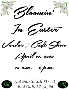 Bloomin In Easter Vendor Show