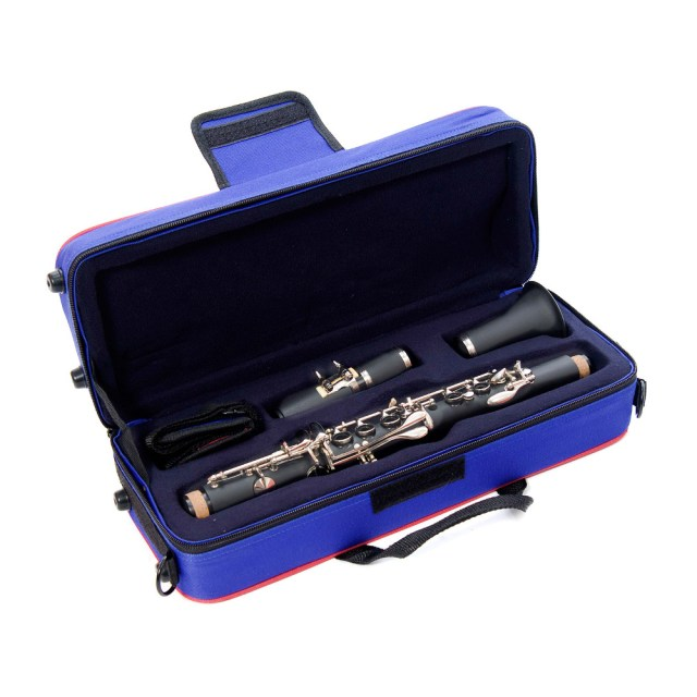 JP Musical Instruments   JP123 Eb clarinet outfit with nickel plated ...