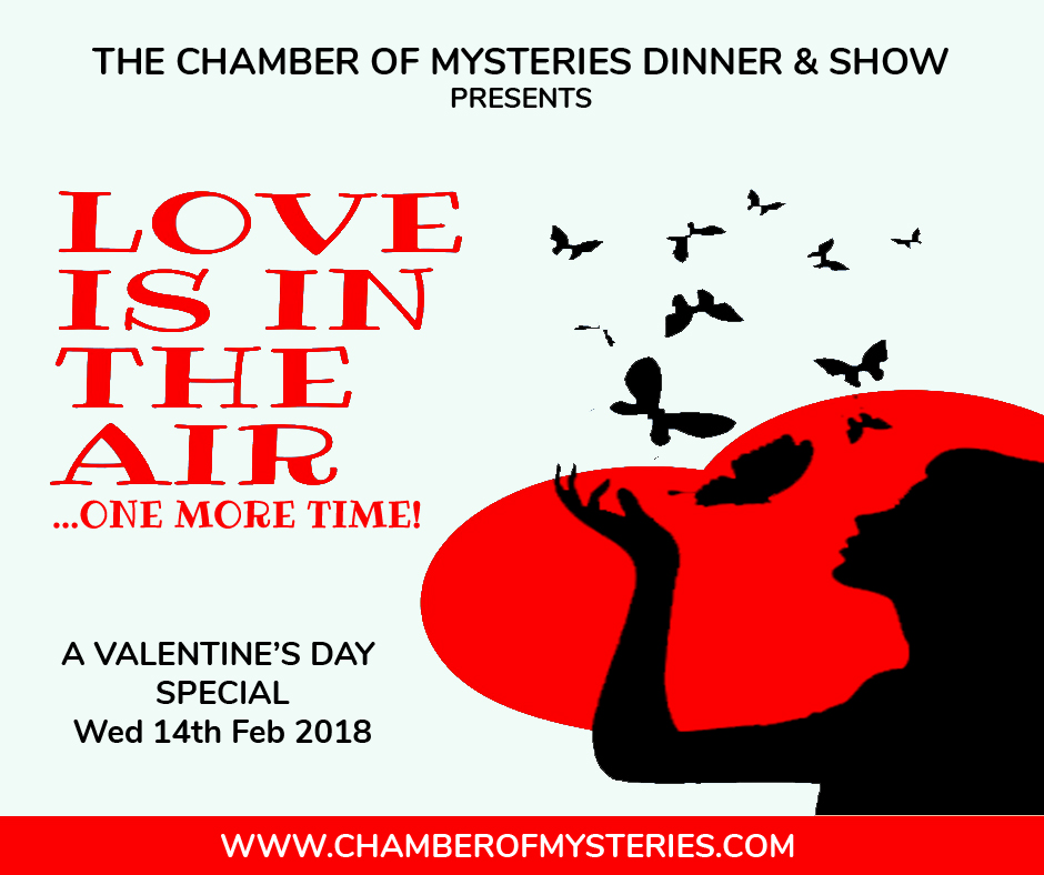 Love is in the Air...One More Time at the Chamber of Mysteries Malta
