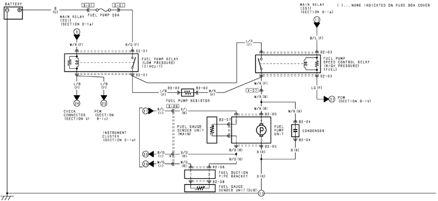 mazda rx8 injector wiring diagram
